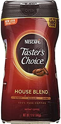 "Taster's Choice Original Gourmet Instant Coffee 12Oz ""3 Pack"" by Taster's Choice"