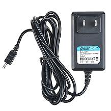 PwrON 6.6 FT Long 5V Mini USB AC to DC Power Adapter Charger For Garmin Edge 500 605 705 GPS Cycling Bike Speed Sensor