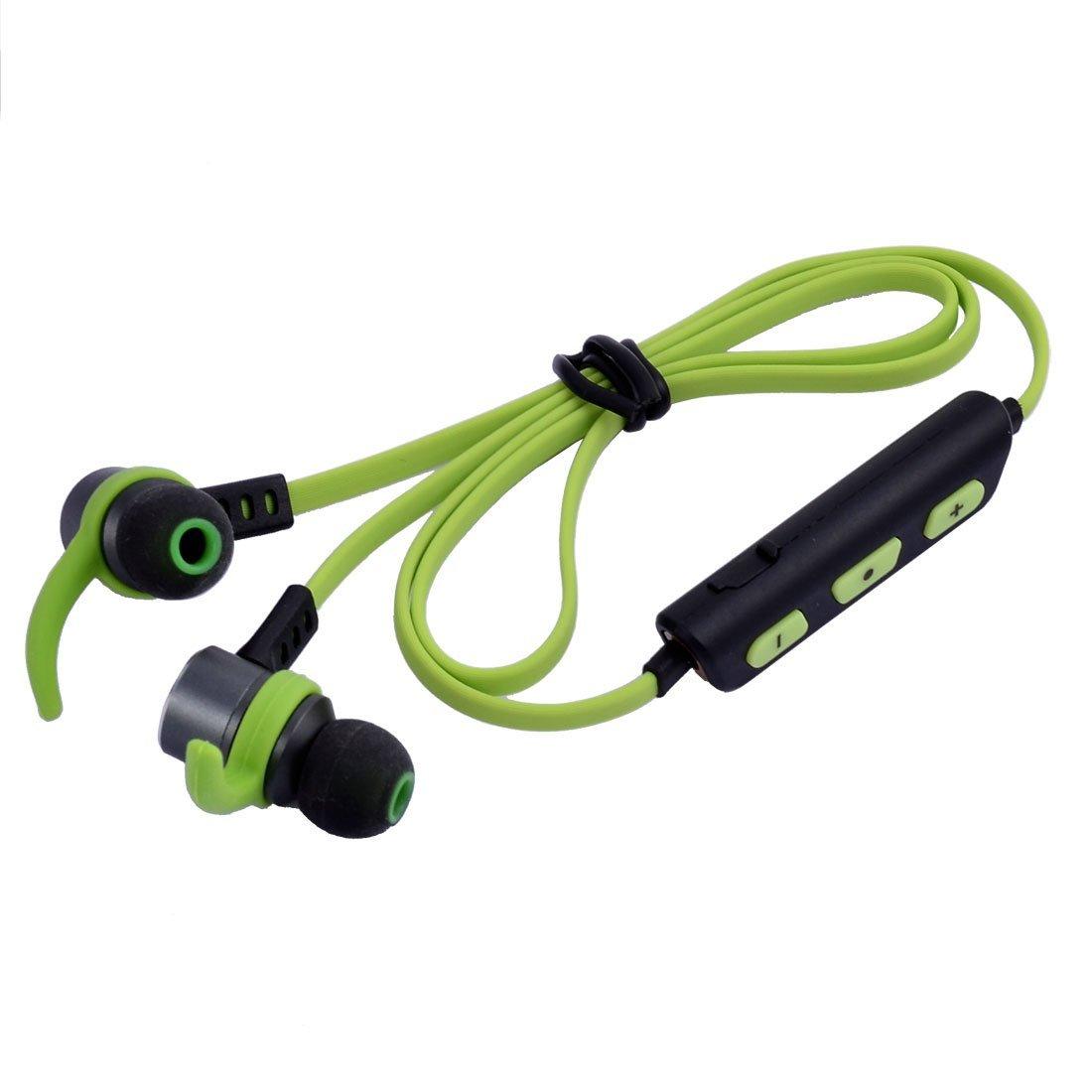 Amazon.com: eDealMax Deportes que funcionan Con USB de sonido estéreo Bluetooth de carga en la oreja Los auriculares auriculares Auricular Verde: ...