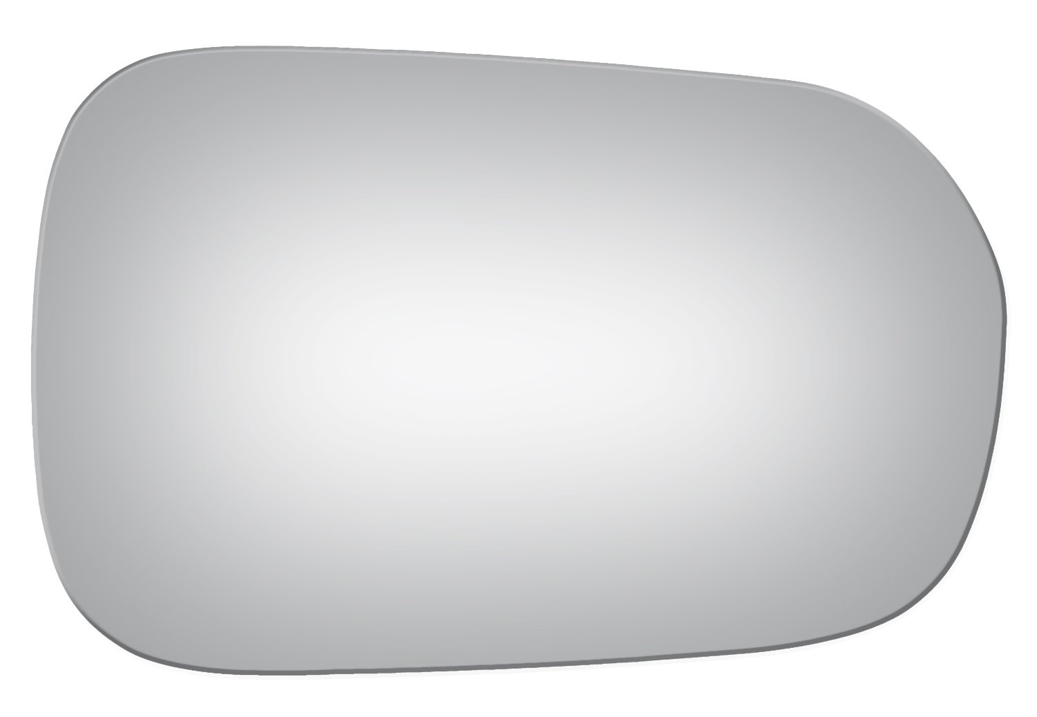 2002, 2003, 2004, 2005, 2006 Burco 3728 Convex Passenger Side Replacement Mirror Glass for 02-06 Acura RSX