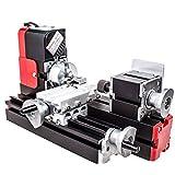 T-king(TM) DIY DC Miniature Metal Multifunction Lathe Machine Mini lathe For DIY Model Making 12V 20000Rev/min