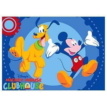 Micky Maus und Freunde Mickey Mouse Teppich Pluto: Amazon.de: Spielzeug