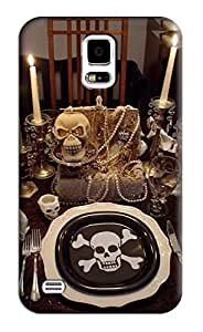 Skull Hard Back Shell Case / Cover for Samsung Galaxy S5
