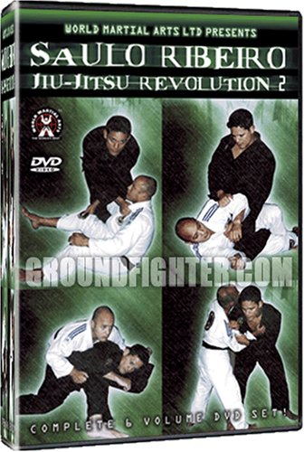 Saulo Ribeiro Brazilian Jiu-Jitsu Revolution Series 2 - DVD Instructional Set