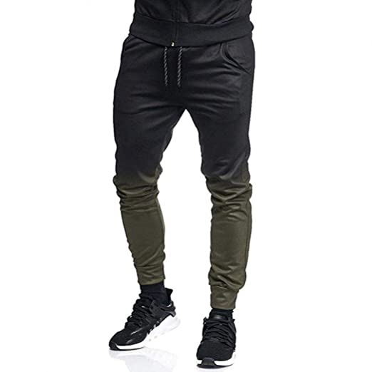 6386e054 Amazon.com: NEARTIME Men Jogging Pants, 2018 Autumn Men's Fashion ...