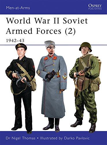 World War II Soviet Armed Forces (2): 1942-43 (Men-at-Arms)