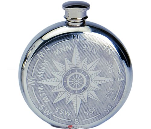 Pewter Liquor Flask - 4