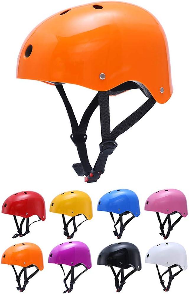 Casco Bicicleta Ni/ños Protecci/ón de Cabeza de Seguridad de Dibujos Animados para Ni/ños de 3-6 y 7-13 A/ños Peso Ligero Transpirable Para Para Bicicleta//Patineta//Scooter//Patinaje//Rodillo Blading de YGJT