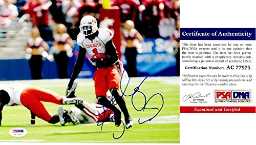 Dez Bryant Signed - Autographed Oklahoma State Cowboys 8x10 inch Photo - PSA/DNA Certificate of Authenticity (COA) - Dallas Cowboys