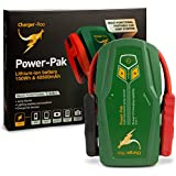 Charger Roo 1000A High Capacity 40500mAh RV Truck Jump Starter Portable 3-in-1 Car Battery Booster Pack & Power Charger for Power Tools 12 V, SUV, 4x4, Boats, Cars, RV Charger, iPads, iPhones
