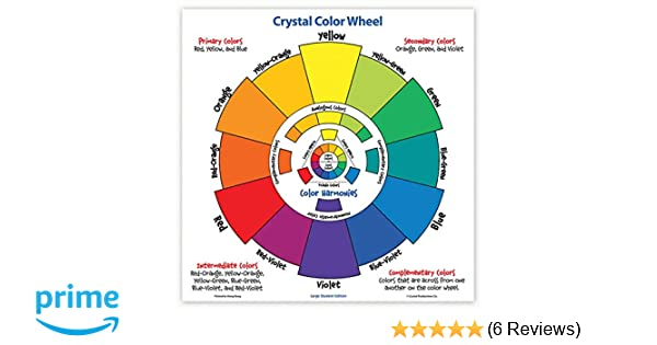 Amazon Com Crystal Crp7230 Large Student Color Wheel Cardstock
