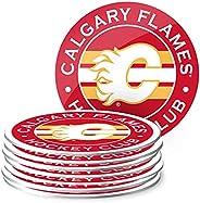 Calgary Flames Eight Pack Coaster Set