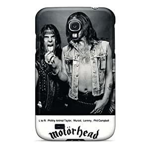 Samsung Galaxy S4 PRS10346wprX Support Personal Customs Lifelike Motorhead Band Skin High Quality Hard Cell-phone Cases -SherriFakhry