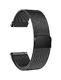 Fullmosa 6 Colores para Correa de Reloj, Milanese Piel Correa Huawei Samsung Correa/Banda/Band/Pulsera/Strap de Recambio/Reemplazo 14mm 16mm 18mm 19mm 20mm 22mm 23mm 24mm