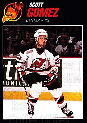 ((CI) Scott Gomez Hockey Card 1999-00 New Jersey Devils Team Issue 23 Scott Gomez)