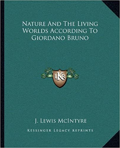 Book Nature and the Living Worlds According to Giordano Bruno