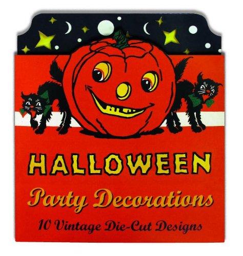 Vintage Halloween Cardboard Cutouts: Die Cut Party Decorations -
