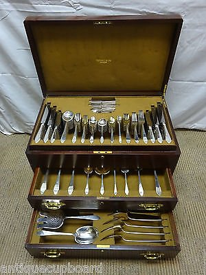 clinton-by-tiffany-co-sterling-silver-dinner-flatware-set-207-pcs-fitted-box