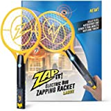 ZAP IT! Large Bug Zapper - Electric Mosquito, Fly Killer and Bug Zapper Racket - 4000 Volt - Rechargeable Via USB, Super…