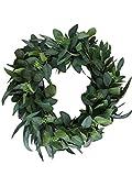 Hearth & Hand Magnolia Eucalyptus Artificial Wreath 24'' Door Wall Window Wreath Greenery
