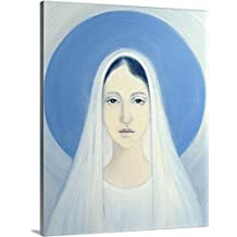 Elizabeth Wang Premium Thick-Wrap Canvas Wall Art Print entitled The Virgin Mary, Our Lady of Harpenden, 1993
