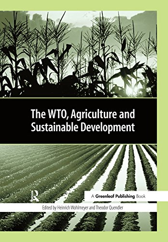 The WTO, Agriculture and Sustainable Development - Kindle ...