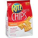 Ritz Toasted Chips, Cheddar 8.1 Ounce