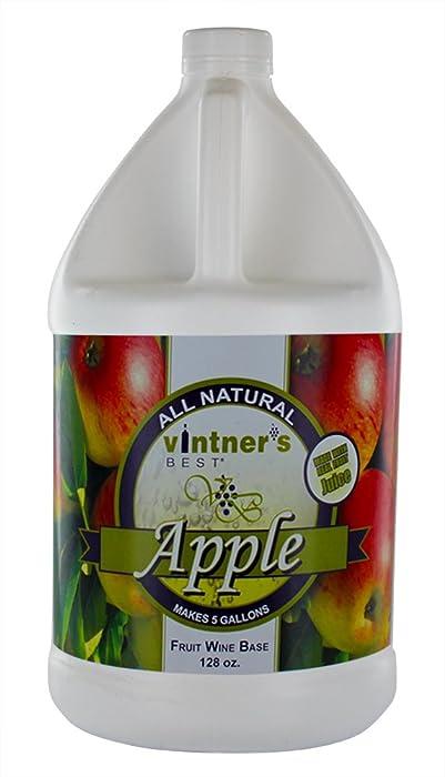 Home Brew Ohio-HOZQ8-1330 Vintners Best Fruit Wine Base, Apple