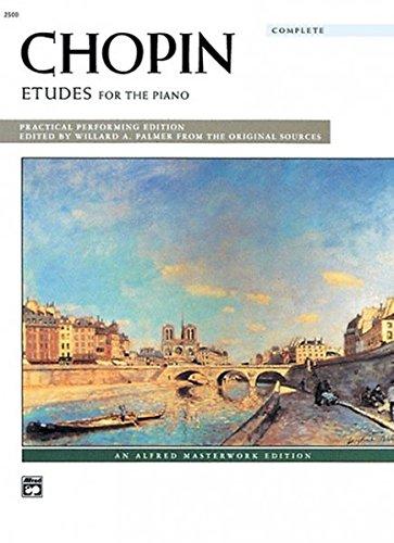 Chopin -- Etudes (Complete): Comb Bound Book (Alfred Masterwork (Etudes Book)