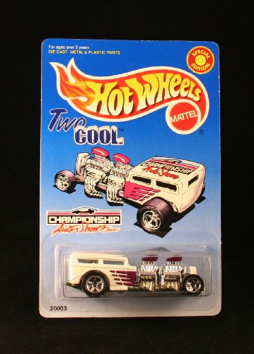 Auto Hot Wheels (TWO COOL * CHAMPIONSHIP AUTO SHOWS, INC. * Exclusive 1998 Hot Wheels Special Edition 1:64 Scale Die-Cast Vehicle)