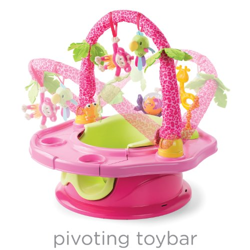 Summer Infant 3-Stage SuperSeat Deluxe Giggles Island Positioner, Booster and Activity Seat for Girl by Summer Infant (Image #5)