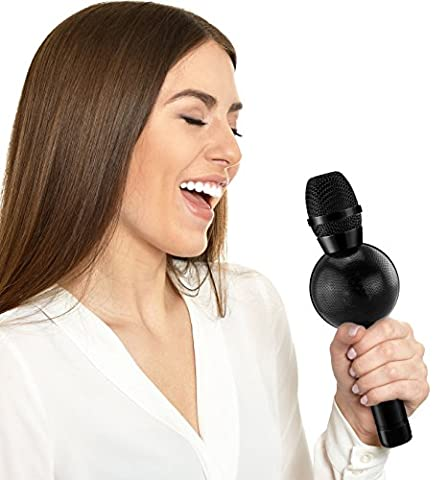 Karaoke Microphone: Wireless Handheld Machine For Kids With Bluetooth Speaker Player System Best Portable Multipurpose Professional Vocal Mixer Mic Sing Songs And Play Music For Apple & (Media Player Midi Control)