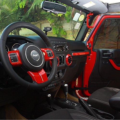 Yingdelai Jeep Wrangler 4 Door 2011 2015 Abs Interior Trim