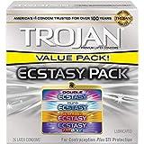 Trojan Ecstasy Condom Pack, 26ct