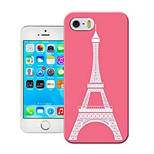 LarryToliver Customizable Eiffel Tower Birthday Gift Cheap unique iphone 5/5s Hard Case Cover Protector Gift Idea