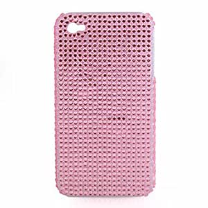 Protective PVC Case with Jewel Cover for IPhone