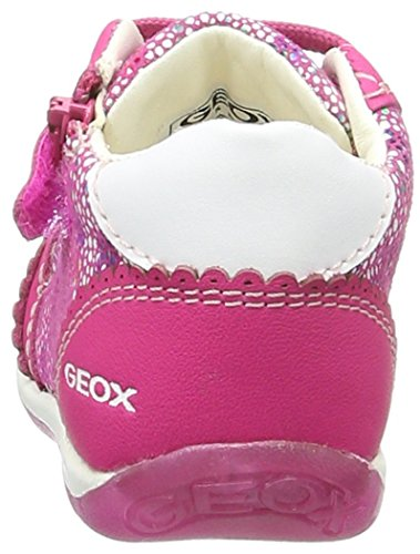 Geox B Each Girl C, Botines de Senderismo para Bebés Rosa (Dk Fuchsiac8321)