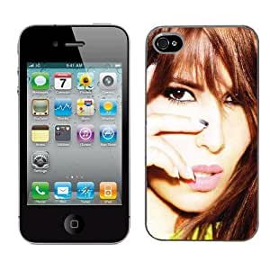 Cheryl Cole cas adapte iphone 4 et 4s couverture coque rigide de protection (4) case pour la apple i phone
