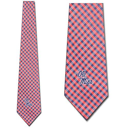 Ole Miss Rebels Ties Mens College Sports Necktie