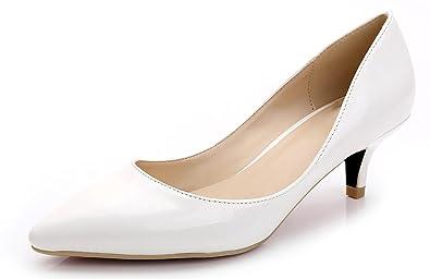 CAMSSOO Damen Elegant, Schwarz - Schwarz - Größe: 36