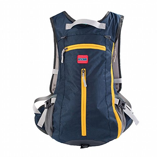 TECOOL 15L Outdoor Sports Backpack Shoulder Belt Bag for Biking Cycling Traveling Camping Hiking Dark Blue