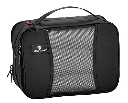 Eagle Creek Travel Gear Luggage Pack-it Clean Dirty Half Cube, Black