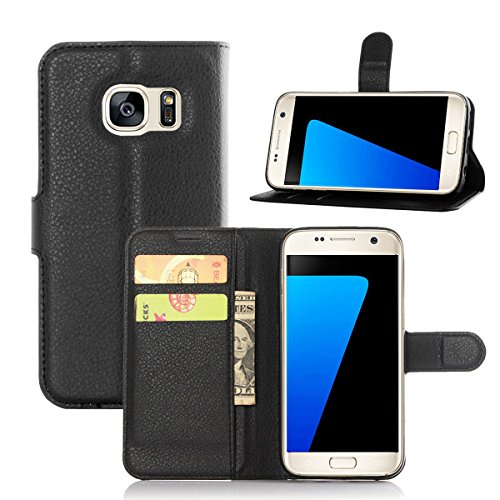 Galaxy S7 Case,Qidreamcase [Kickstand][Flip][Card Slot][Slim Fit] - PU Leather Wallet Case for Samsung Galaxy S7 G930 - Online Debit Take That Stores