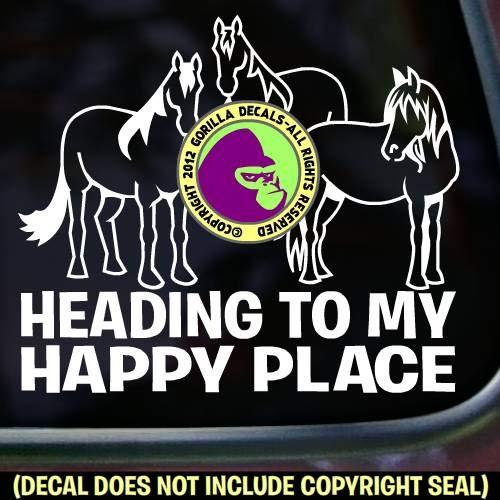 HAPPY PLACE Springboard Diver FEMALE Vinyl Decal Sticker D