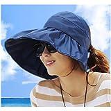 f22d2c0c867 Summer Korean Style Topless Foldable UV Women Sun Beach Hats Anti Sun UV  Color