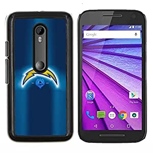 Asaltante- Metal de aluminio y de plástico duro Caja del teléfono - Negro - Motorola Moto G (3rd gen) / G3