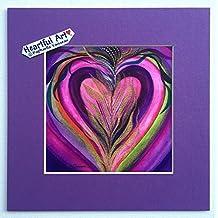Resurrected Heart 2 print (8x8) - Heartful Art by Raphaella Vaisseau