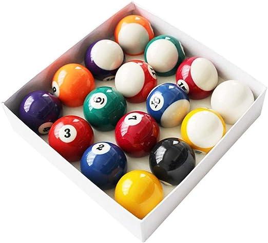 WXS American Pool Balls Snooker Billar Mini Billar para niños Suministros Accesorios: Amazon.es: Deportes y aire libre