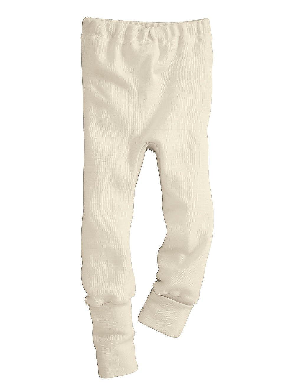 hessnatur Baby Mädchen und Jungen Unisex Hose aus Bio-Merinowolle mit Seide