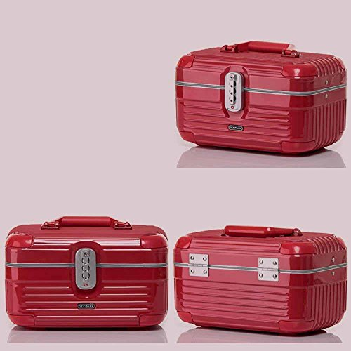Kaxima Aluminum frame cosmetic Case Large capacity hand-held waterproof and pressure-carrying bag packing box travel cosmetic bag 32x20x18cm by Kaxima